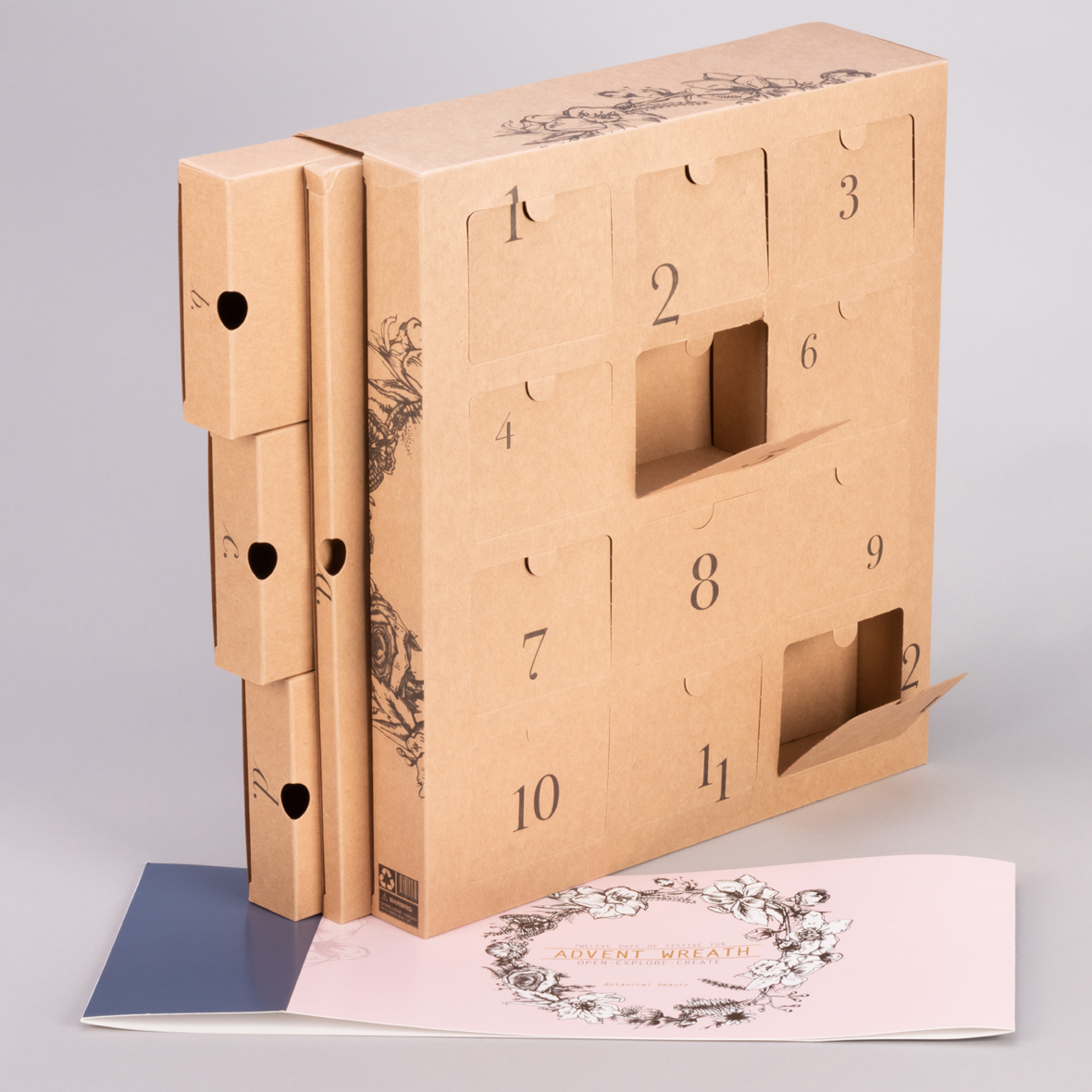 Advent Calendar with drawers