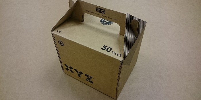 Flexo Printed Carry Box