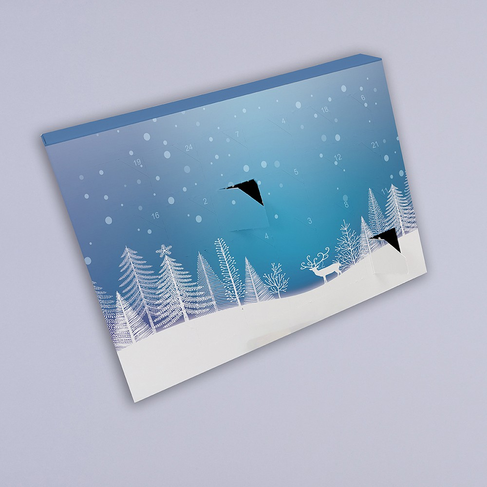 cost effective advent calendar with various fitments