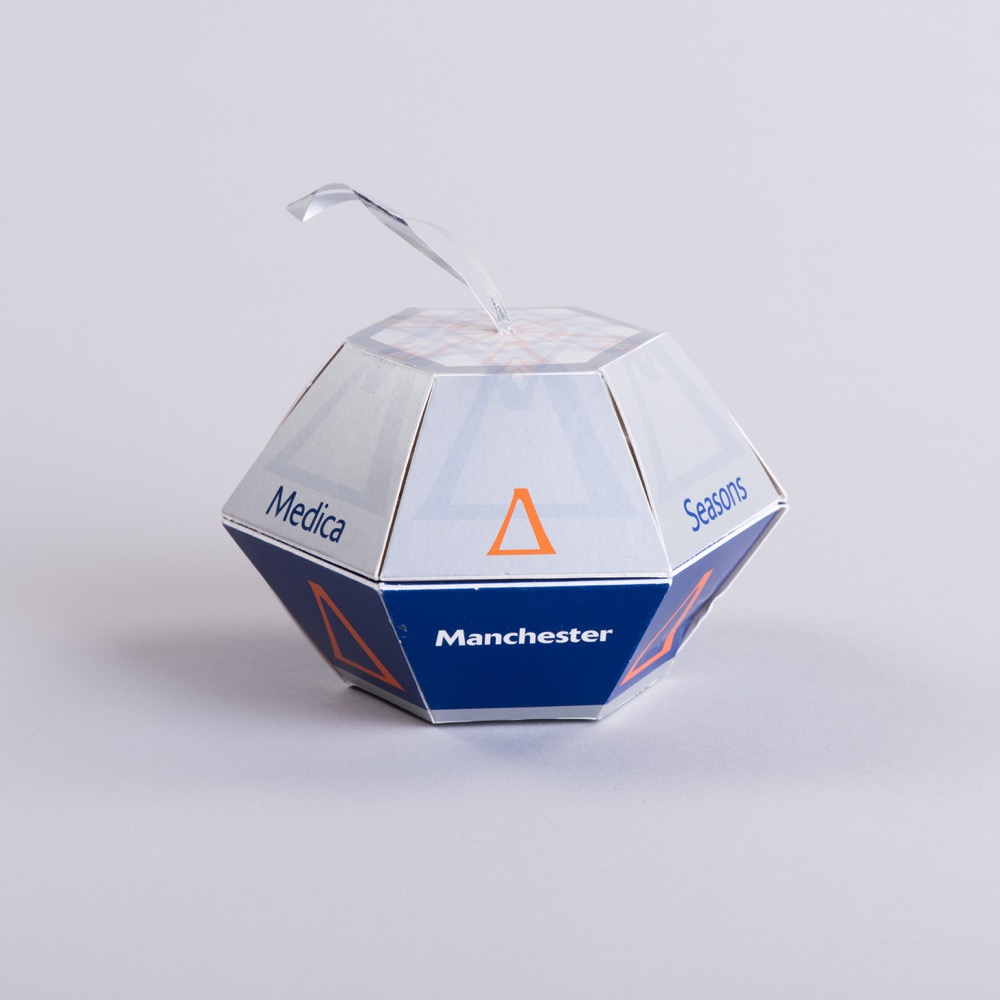 Pop Up Ball With Ribbon