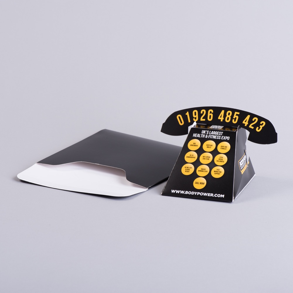 Pop Up Phone With Board Envelope
