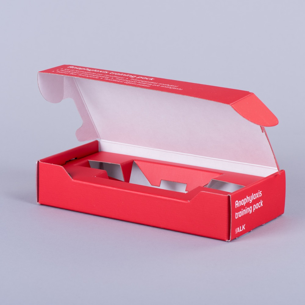 Corrugated 0427 (pizza style) mailing box with plinth