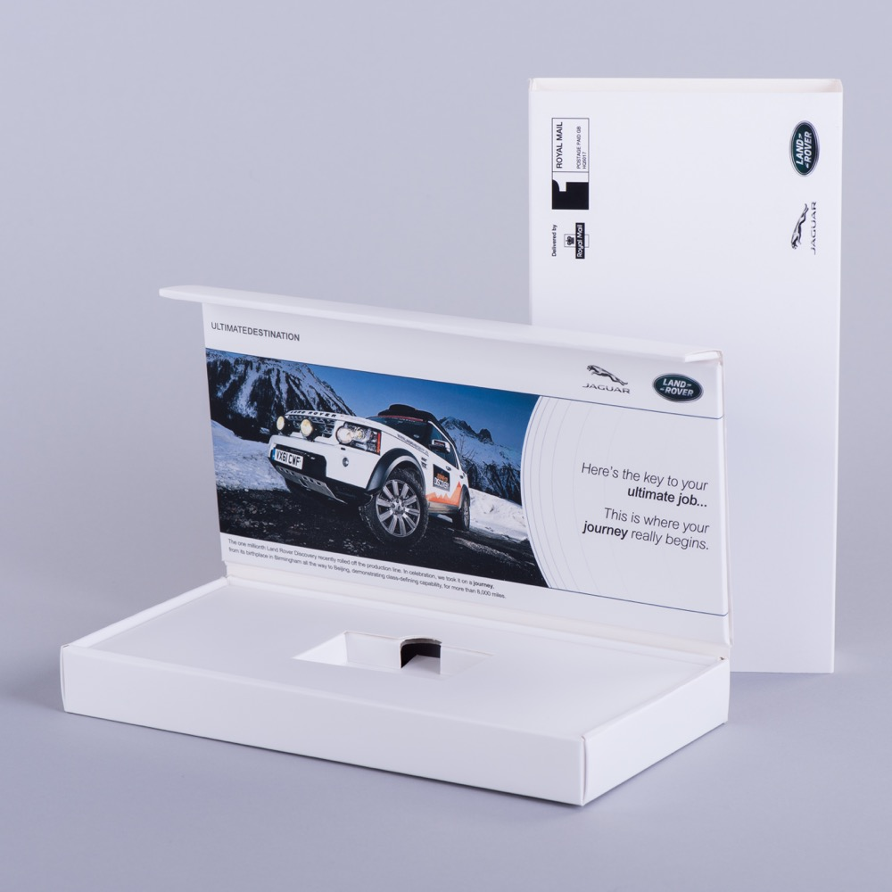 Rigid and rigid style presentation boxes